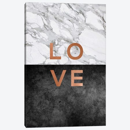 Love Copper Canvas Print #ORA137} by Orara Studio Canvas Art
