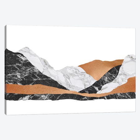Marble Landscape I Canvas Print #ORA141} by Orara Studio Canvas Art