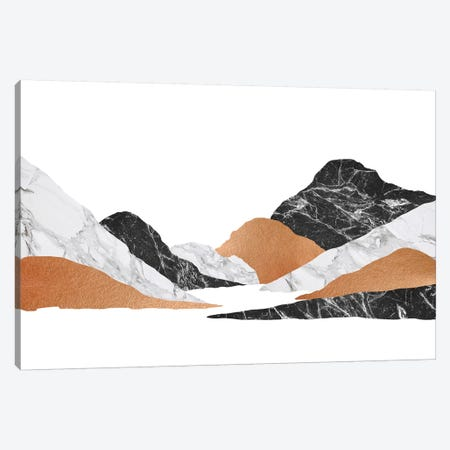 Marble Landscape II Canvas Print #ORA142} by Orara Studio Canvas Wall Art