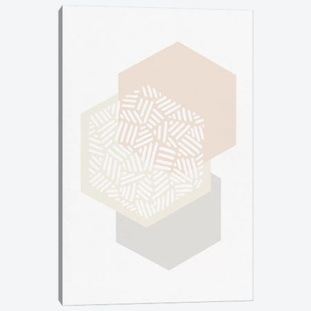 Minimalist Geometric I Canvas Print #ORA148} by Orara Studio Canvas Art