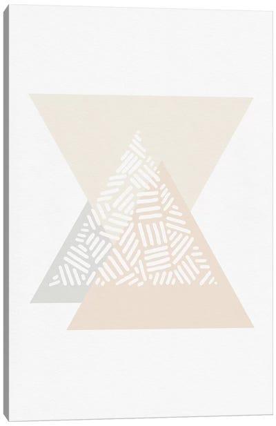 Minimalist Geometric III Canvas Art Print