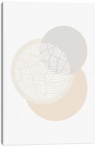 Minimalist Geometric IV Canvas Art Print