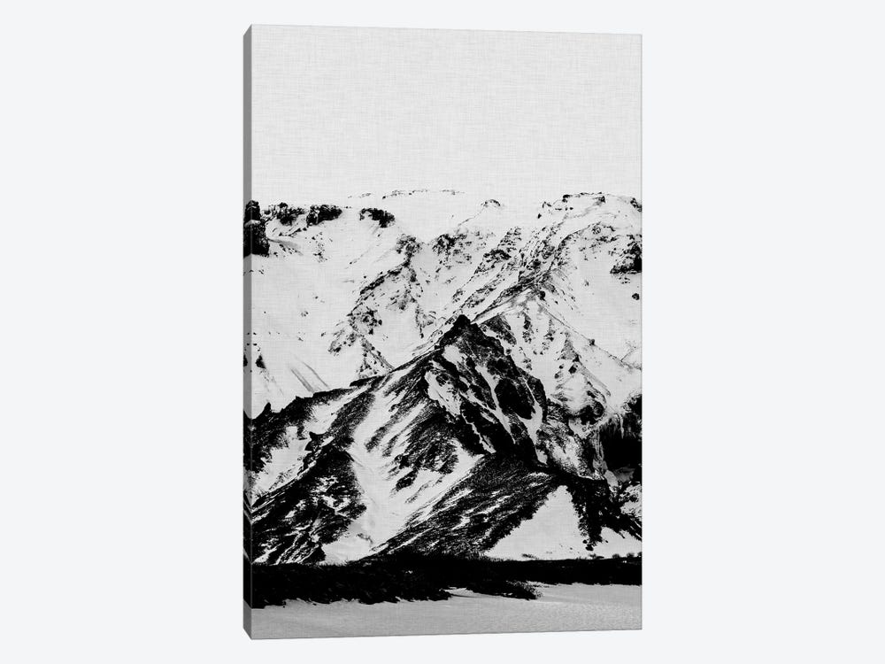 Minimalist Mountains by Orara Studio 1-piece Canvas Print