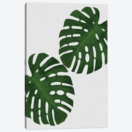 Monstera Leaf I Canvas Print #ORA154} by Orara Studio Canvas Art