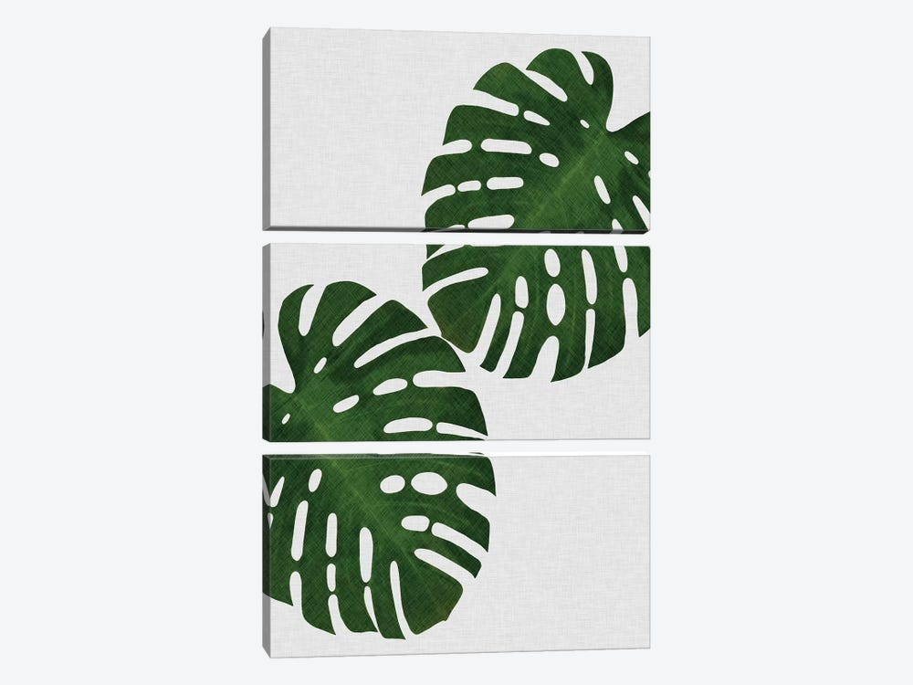 Monstera Leaf I by Orara Studio 3-piece Canvas Art