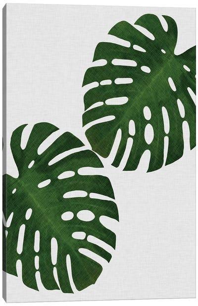 Monstera Leaf I Canvas Art Print