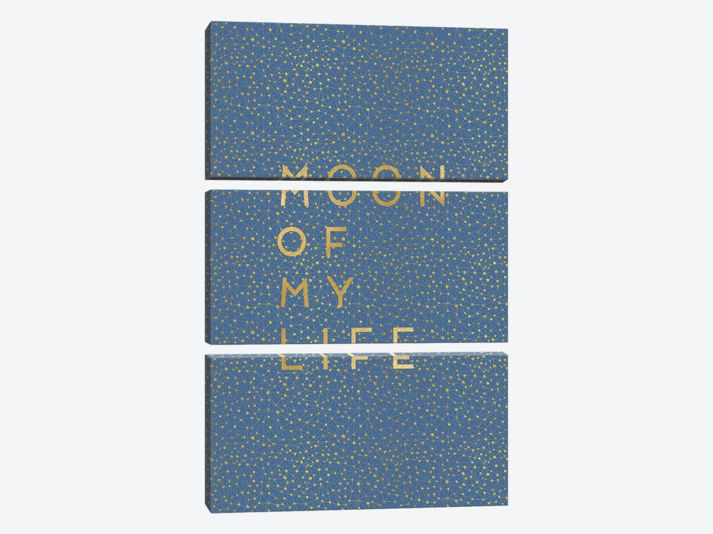 Moon Of My Life by Orara Studio 3-piece Canvas Art Print