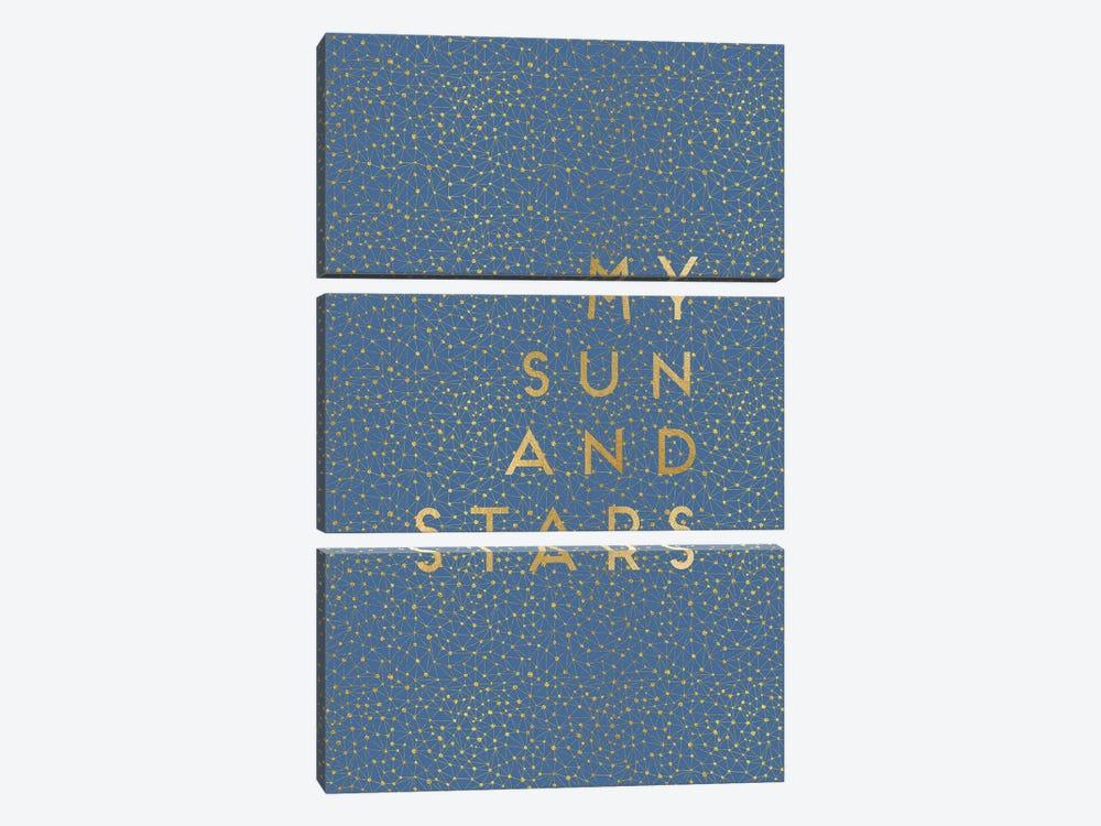 My Sun & Stars by Orara Studio 3-piece Canvas Art