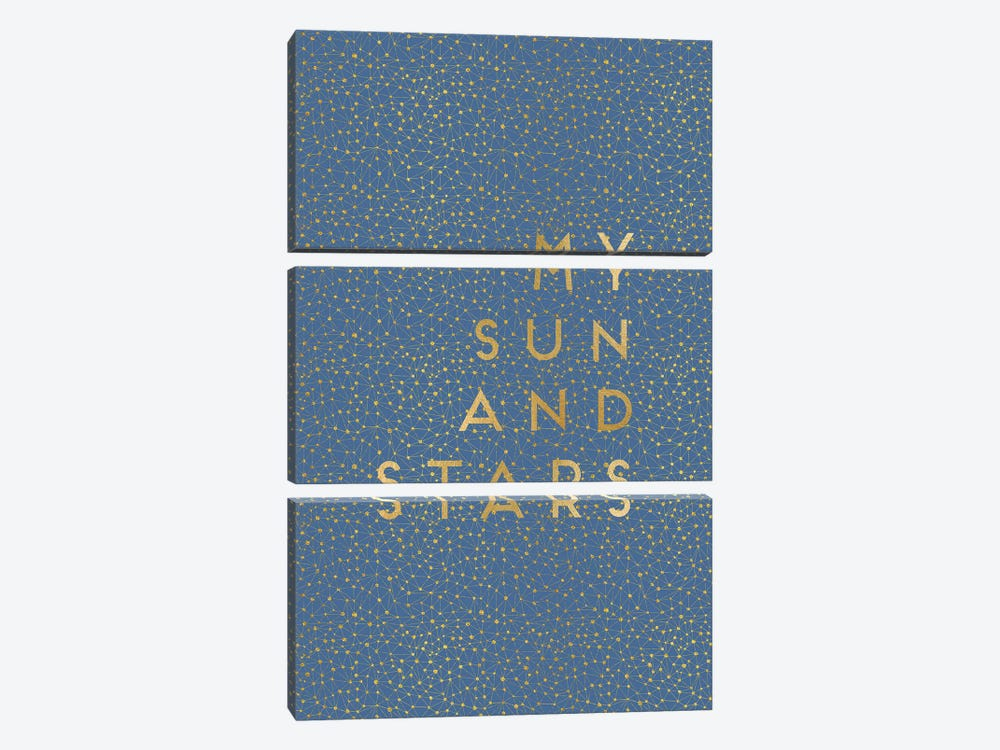 My Sun & Stars by Orara Studio 3-piece Canvas Art