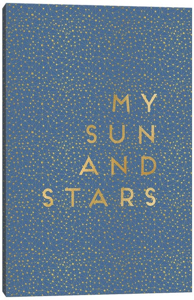 My Sun & Stars Canvas Art Print