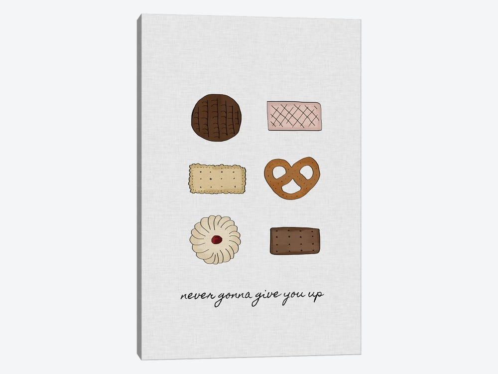 Never Gonna Give You Up by Orara Studio 1-piece Art Print