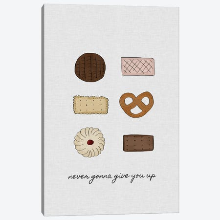 Never Gonna Give You Up Canvas Print #ORA164} by Orara Studio Canvas Print