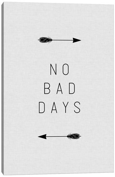 No Bad Days Arrow Canvas Art Print