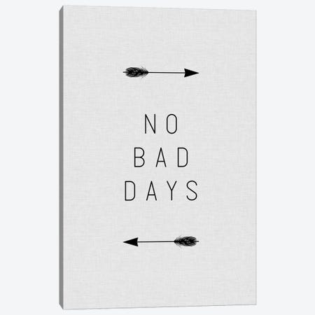 No Bad Days Arrow Canvas Print #ORA165} by Orara Studio Canvas Art Print