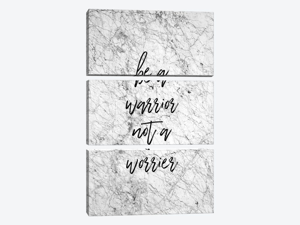 Be A Warrior by Orara Studio 3-piece Canvas Wall Art