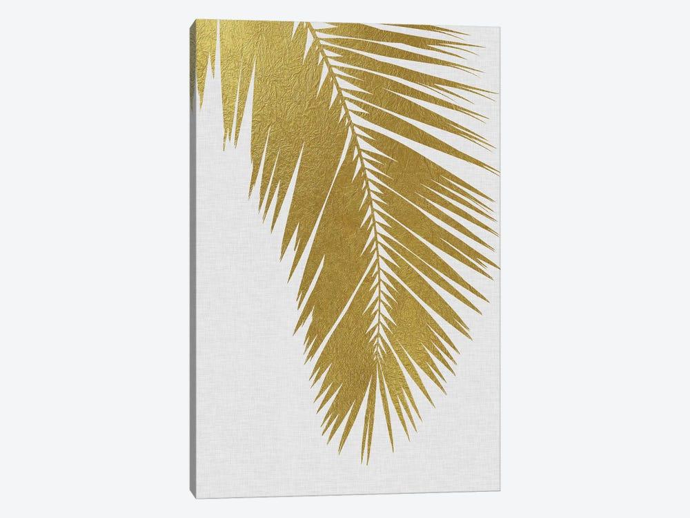 Palm Leaf I Gold by Orara Studio 1-piece Canvas Wall Art