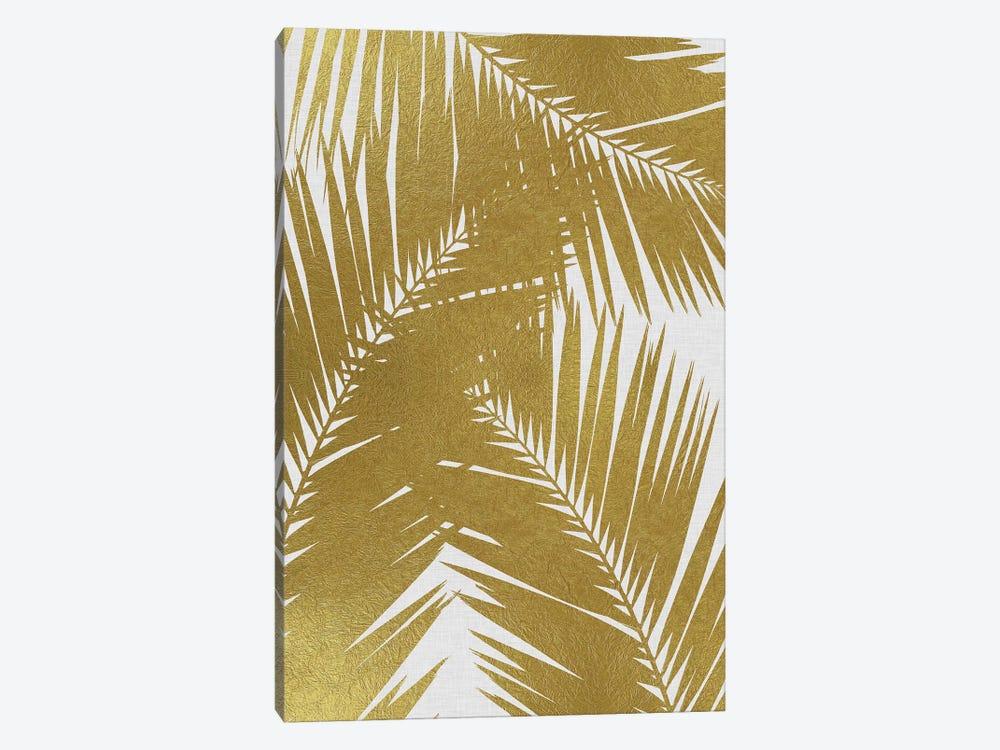 Palm Leaf III Gold by Orara Studio 1-piece Canvas Artwork