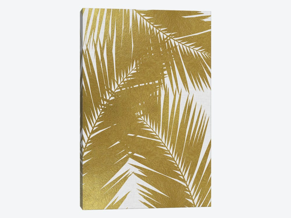 Palm Leaf III Gold by Orara Studio 1-piece Canvas Artwork