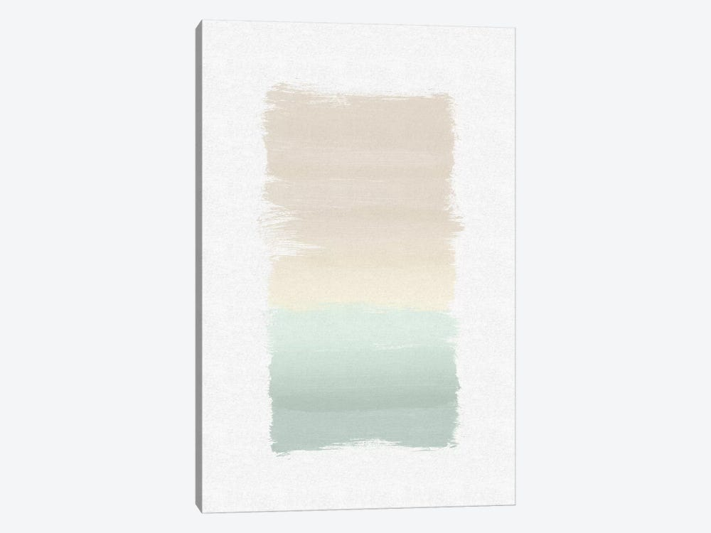 Pastel Abstract 1-piece Art Print
