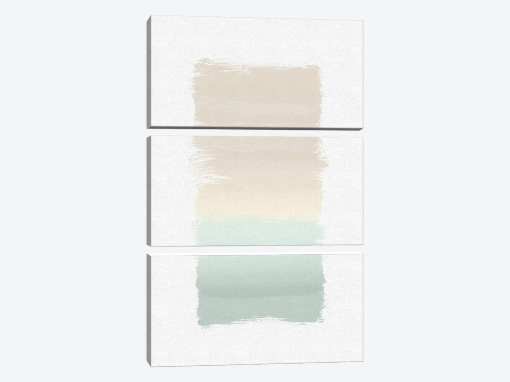 Pastel Abstract 3-piece Art Print