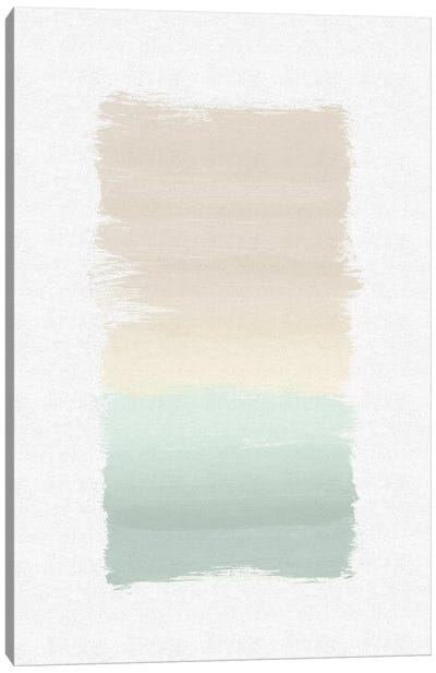 Pastel Abstract Canvas Art Print