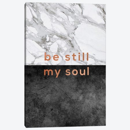Be Still My Soul Copper Canvas Print #ORA17} by Orara Studio Canvas Print