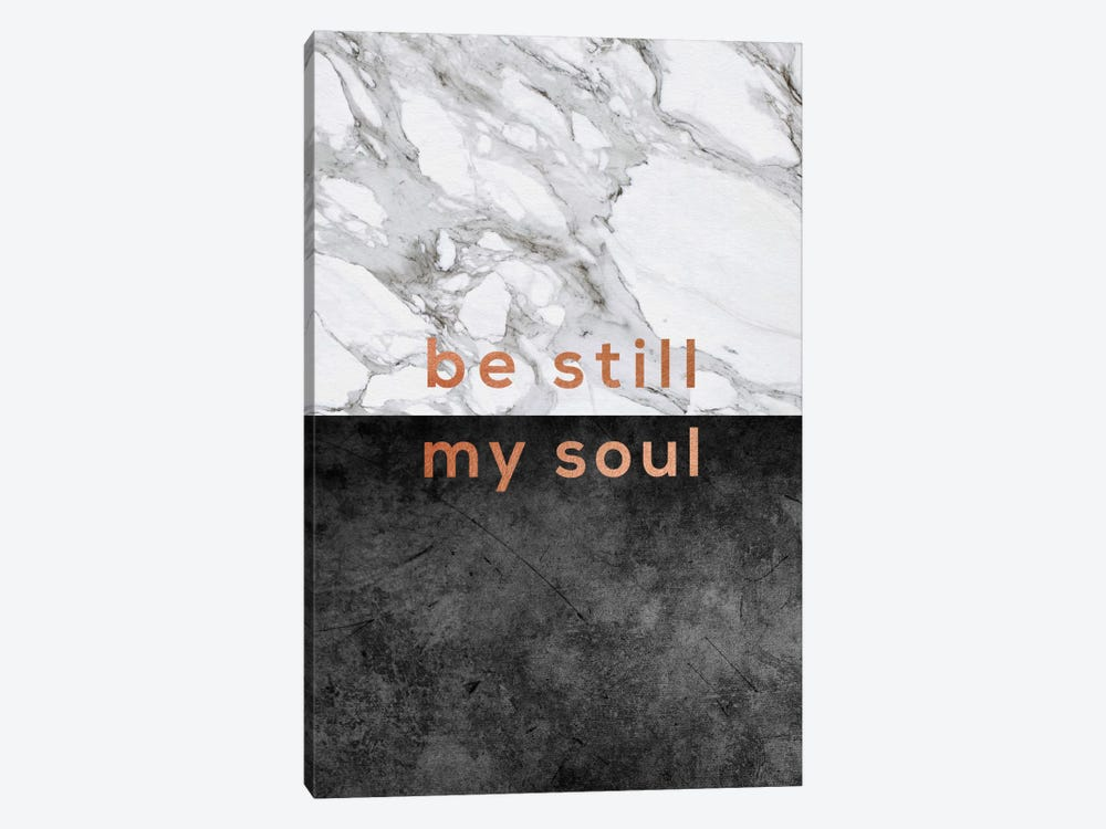 Be Still My Soul Copper by Orara Studio 1-piece Canvas Art Print