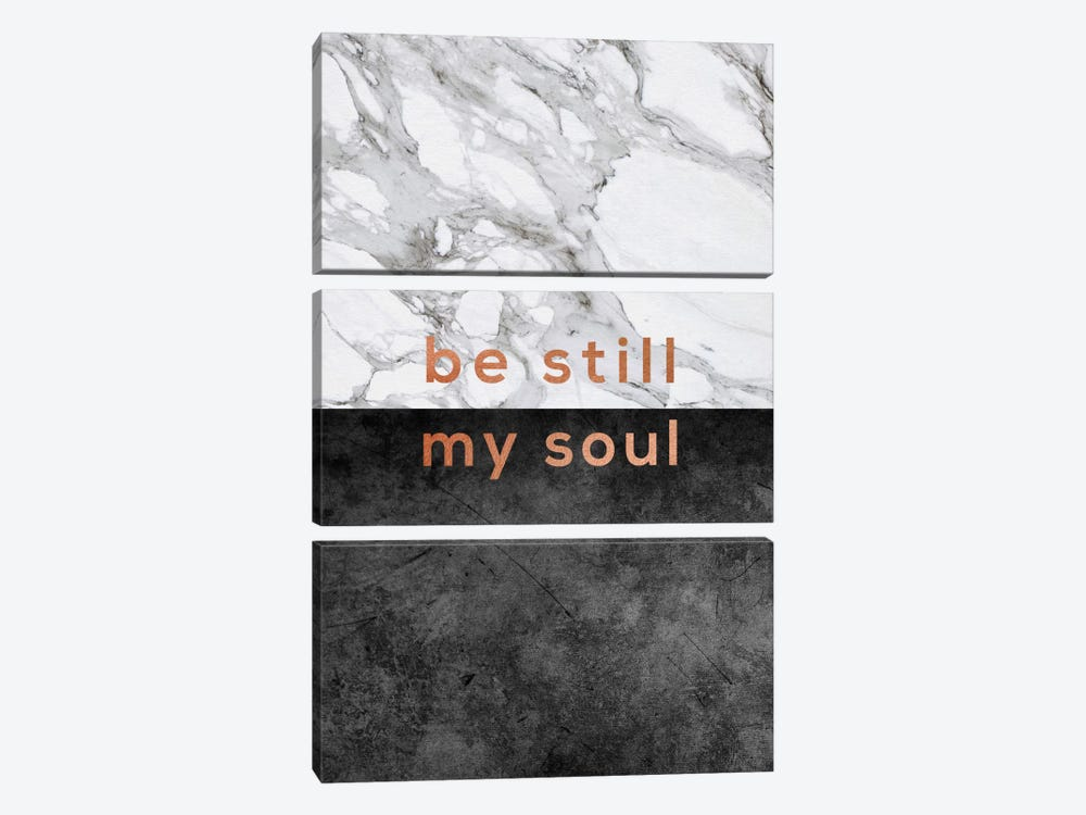 Be Still My Soul Copper by Orara Studio 3-piece Art Print