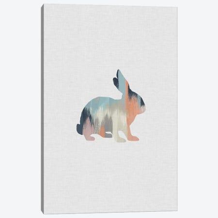 Pastel Rabbit Canvas Print #ORA185} by Orara Studio Canvas Print