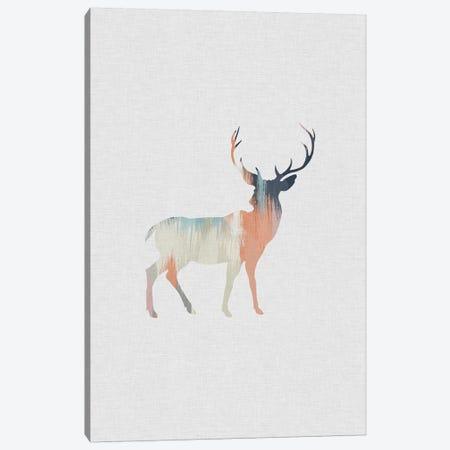 Pastel Reindeer Canvas Print #ORA186} by Orara Studio Canvas Print