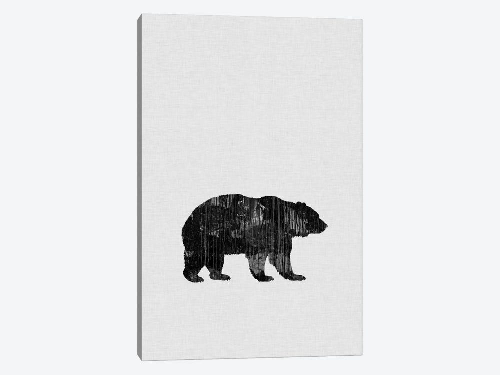 Bear B&W by Orara Studio 1-piece Canvas Art