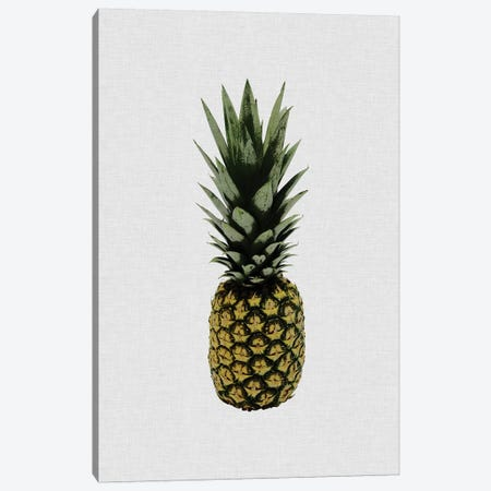 Pineapple I Canvas Print #ORA191} by Orara Studio Canvas Art Print