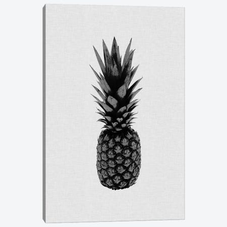 Pineapple I B&W Canvas Print #ORA192} by Orara Studio Art Print