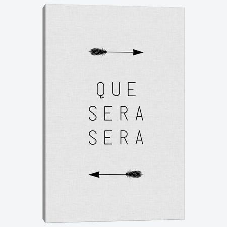 Que Sera Sera Arrow Canvas Print #ORA196} by Orara Studio Canvas Artwork