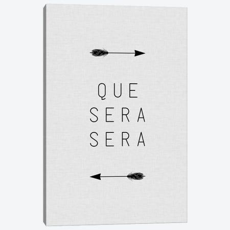 Que Sera Sera Arrow Canvas Print #ORA196} by Orara Studio Canvas Artwork