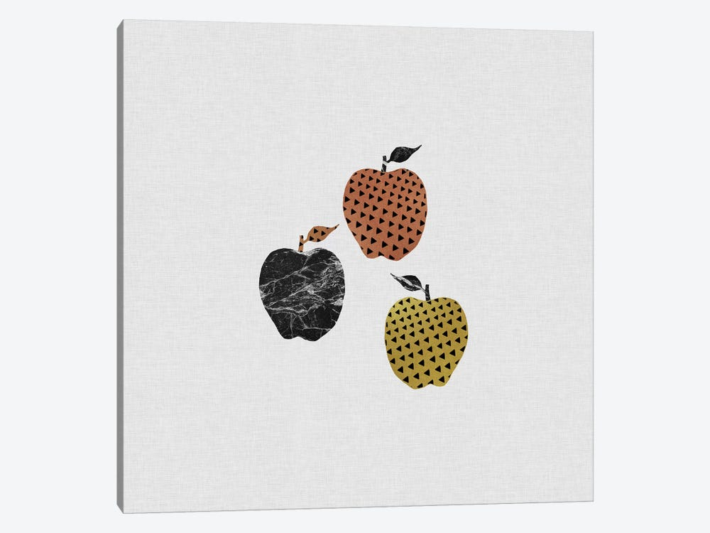Scandi Apples by Orara Studio 1-piece Canvas Print