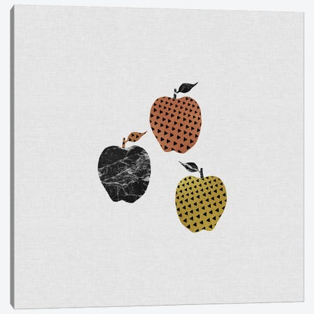 Scandi Apples Canvas Print #ORA202} by Orara Studio Canvas Print