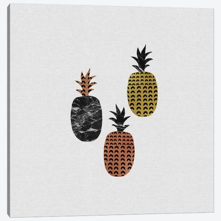 Scandi Pineapples Canvas Print #ORA204} by Orara Studio Canvas Artwork