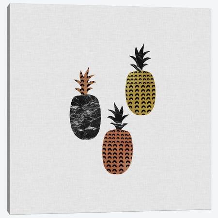 Scandi Pineapples Canvas Print #ORA204} by Orara Studio Canvas Artwork