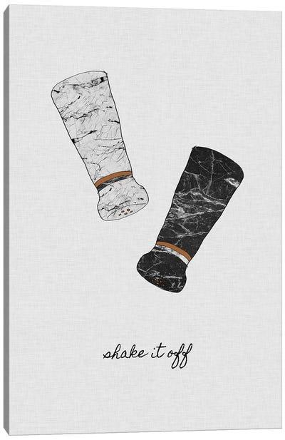 Shake It Off Canvas Art Print
