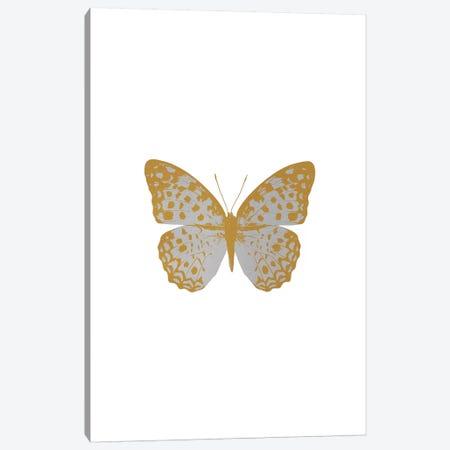 Silver Butterfly Canvas Print #ORA207} by Orara Studio Canvas Artwork