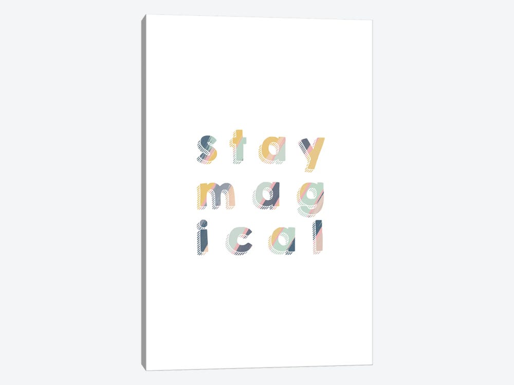 Stay Magical 1-piece Canvas Art Print
