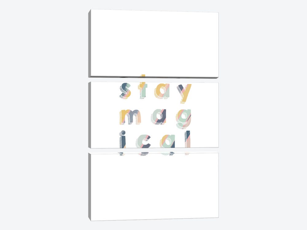 Stay Magical by Orara Studio 3-piece Canvas Print