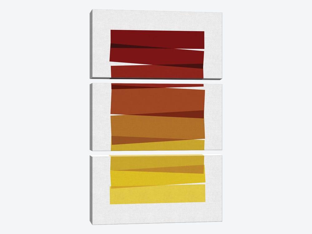 Stripes II by Orara Studio 3-piece Art Print