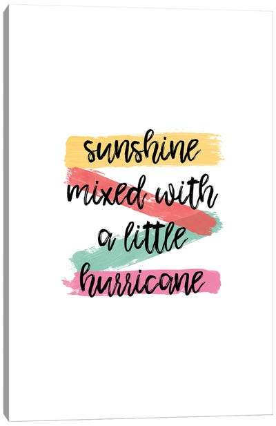 Sunshine Canvas Art Print