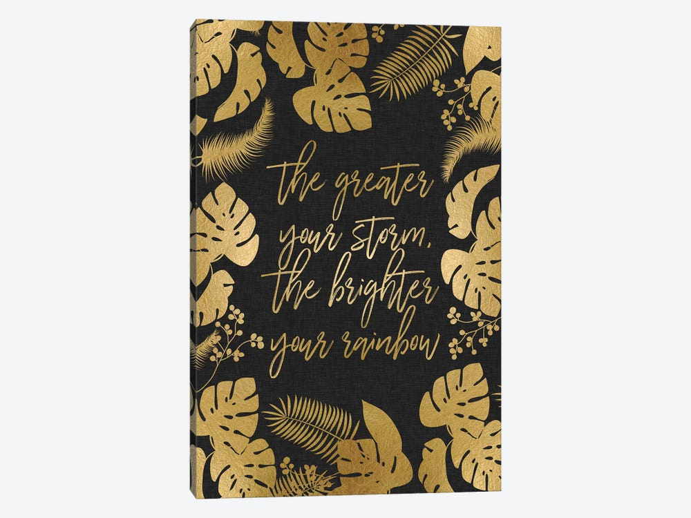 The Greater Your Storm by Orara Studio 1-piece Canvas Art Print