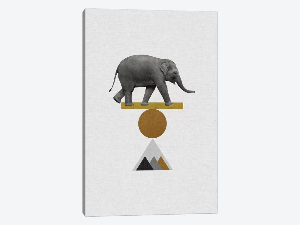 Tribal Elephant by Orara Studio 1-piece Art Print