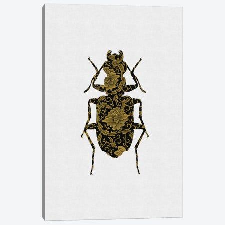 Black & Gold Beetle II Canvas Print #ORA21} by Orara Studio Canvas Art Print