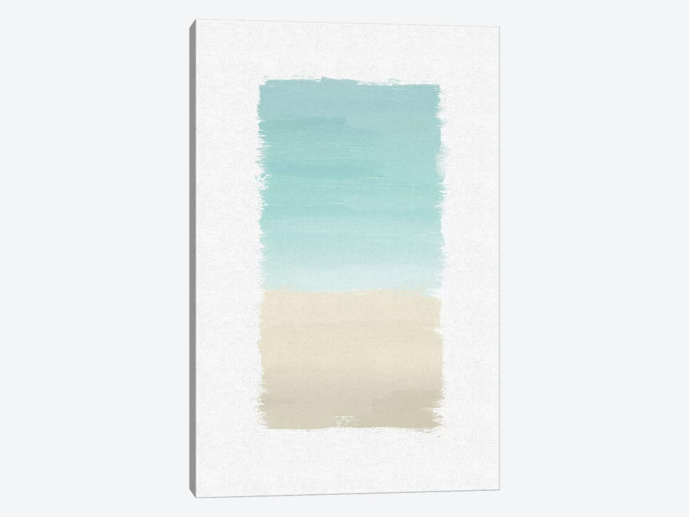 Turquoise Abstract by Orara Studio 1-piece Canvas Artwork