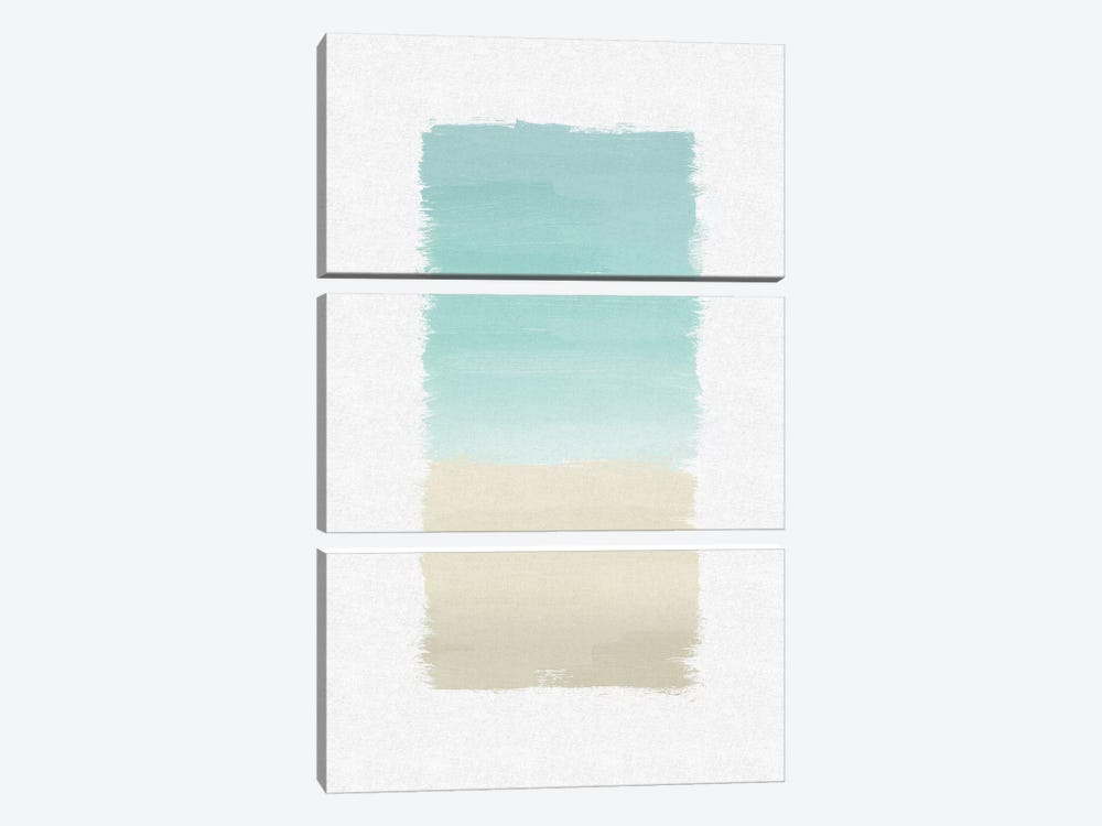 Turquoise Abstract by Orara Studio 3-piece Canvas Art